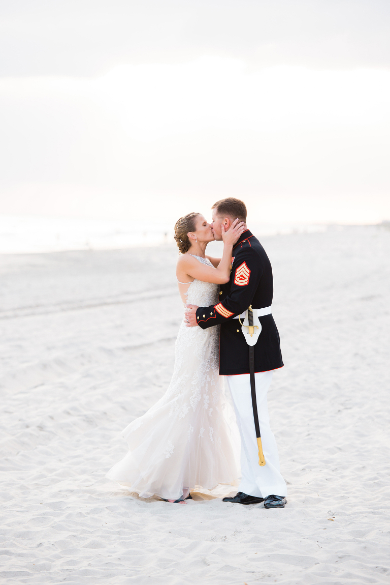 wedding couple emerald isle